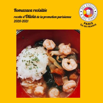 Romazava revisitée, soupe malgache d'Olivia