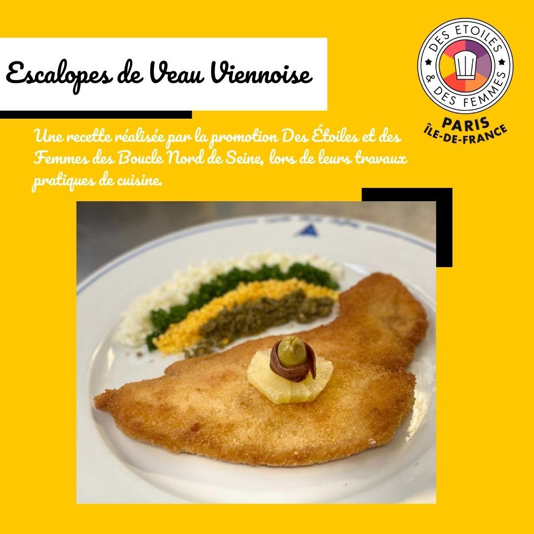 Escalopes de Veau Viennoise